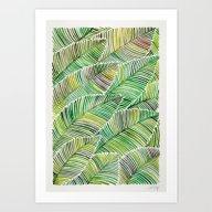Tropical Green Art Print