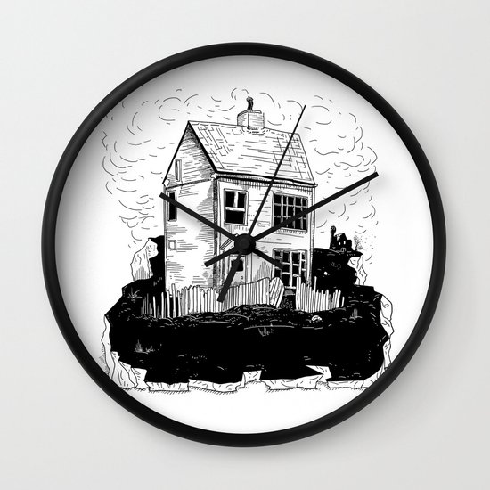 A House in Newfoundland Wall Clock