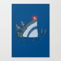 Rudolph Shark Canvas Print