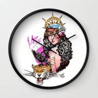 Gitana Wall Clock
