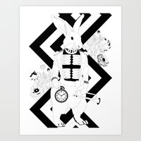 Alice In Wonderland Seri… Art Print