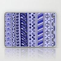 Yzor pattern 002 blue Laptop & iPad Skin