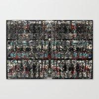 Graf-Grid 1 Canvas Print