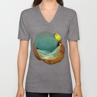 the abstract dream 22 Unisex V-Neck
