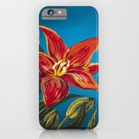 iPhone & iPod Case featuring Morning Star Lily by Charlotte Curtis