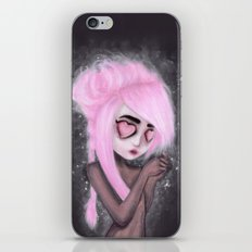 eyes and heart all empty iPhone & iPod Skin