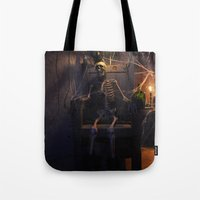 He Done Wrong Tote Bag