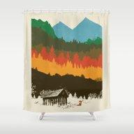 Shower Curtain featuring Hunting Season by Dan Elijah G. Fajard…