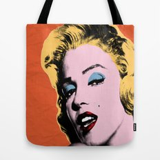 my night with Marilyn Tote Bag