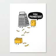 You Really Grate On Me Canvas Print