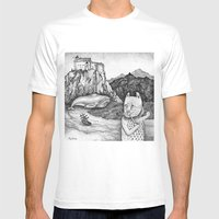 The Whale, The Castle & … Mens Fitted Tee White SMALL