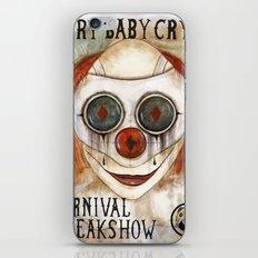 Cry Baby Clown iPhone & iPod Skin