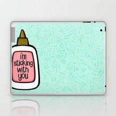 sticking with you ii Laptop & iPad Skin