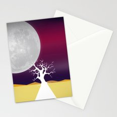 Say Hello to The Moon Stationery Cards