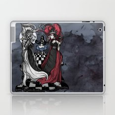Alice and her Queens: The Checkered Board Laptop & iPad Skin
