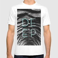 End Of The Tunnel Mens Fitted Tee White SMALL