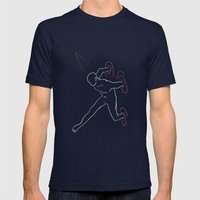 Galvanico 02 Mens Fitted Tee Navy SMALL