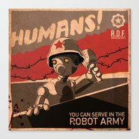 Propaganda Series 6 Canvas Print