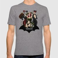 the Gotham Sirens Mens Fitted Tee Tri-Grey SMALL