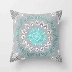Bubblegum Lace Throw Pillow