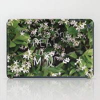 Elegance Is In The Mind iPad Case