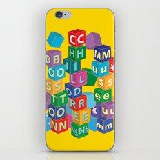 Boston Childrens Museum iPhone & iPod Skin