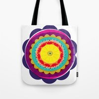 Kaleidoscope Flora 03 Tote Bag