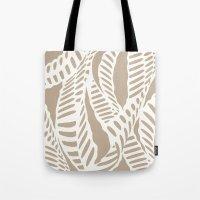 Al Peas: Tan/ Khaki Tote Bag