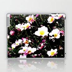 Pink Flowers (Edited)  Laptop & iPad Skin
