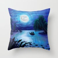 .:Kiss The Girl:. Throw Pillow