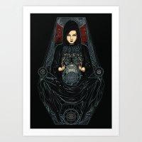 catch the venus Art Print