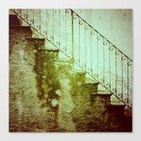 Stairs II Canvas Print