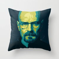 Breaking Bad Walter Whit… Throw Pillow