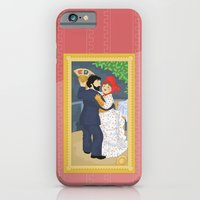 iPhone & iPod Case featuring Dance in the country by Renoir by Alapapaju
