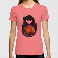 Metroid Prime Womens Fitted Tee Pomegranate SMALL