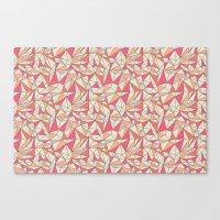 Triangles Color Block In… Canvas Print