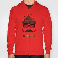 Hipster Hat Hoody