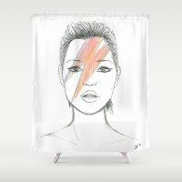 Moss X Bowie Shower Curtain