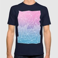 Barika Rays Mens Fitted Tee Navy SMALL