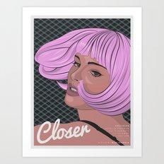 CLOSER (Natalie Portman Series) Art Print