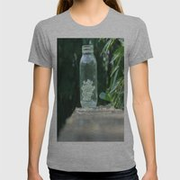Queen Anne's Lace/Jar W/… Womens Fitted Tee Athletic Grey SMALL