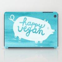 Happy Vegan iPad Case