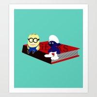 Geeks Art Print