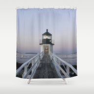 Marshall Point Lighthous… Shower Curtain