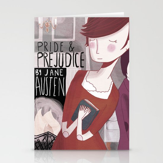 Pride and Prejudice Stationery Card