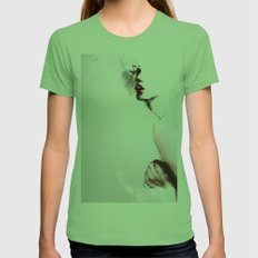 Pi C Womens Fitted Tee Grass SMALL