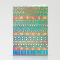 Inspired Aztec Pattern 2 Stationery Cards