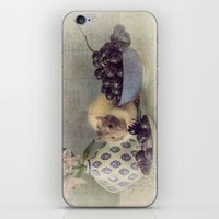 Snoozy Loves Grapes iPhone & iPod Skin