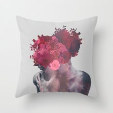 I'm not done Throw Pillow