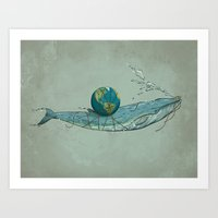 Save The Planet II Art Print